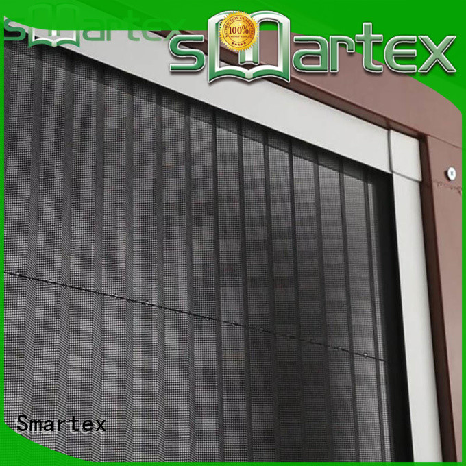 Smartex window privacy screen factory direct supply for preventing insects