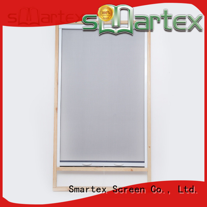 Smartex customized window mesh screen manufacturer for home depot