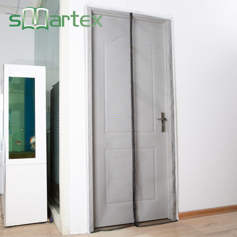 Magnetic screen door magnetic mosquito curtains with REACH SVHC174