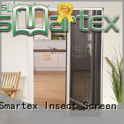 Smartex best value pleated fly screen doors factory direct supply