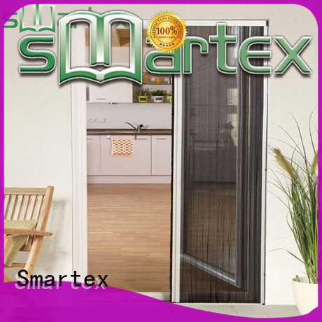Smartex top selling aluminium fly screen door factory direct supply for preventing insects