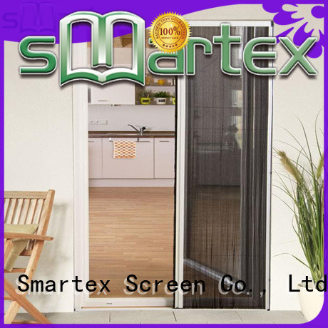 Smartex top selling sliding fly screen door factory direct supply for home depot