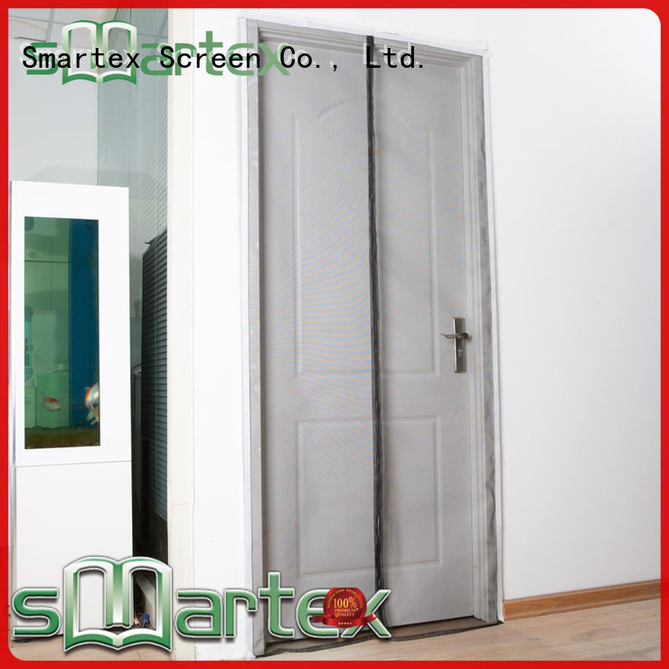 Smartex magnetic screen door curtain factory price for comfortable life