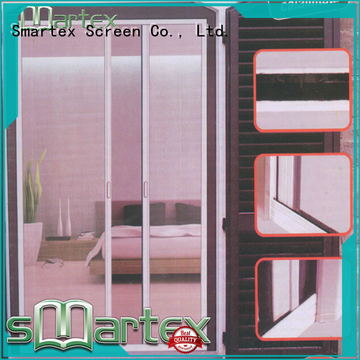 Smartex bifold fly screens supplier for home depot