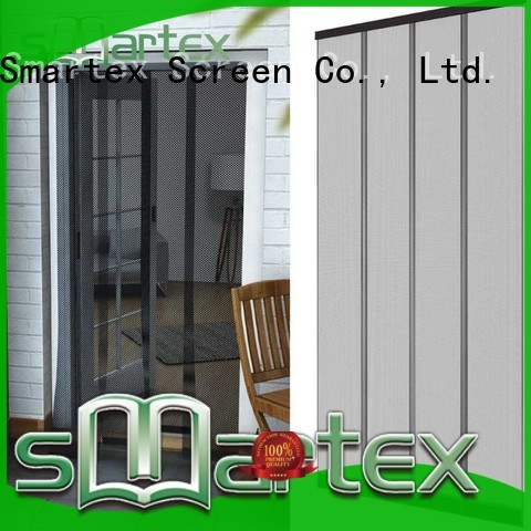 Smartex fly curtains for patio doors manufacturer for preventing insects