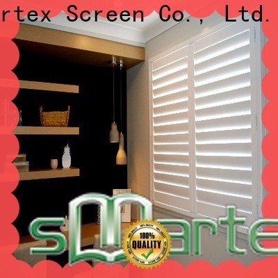 durable solid pvc exterior shutters manufacturer for preventing insects