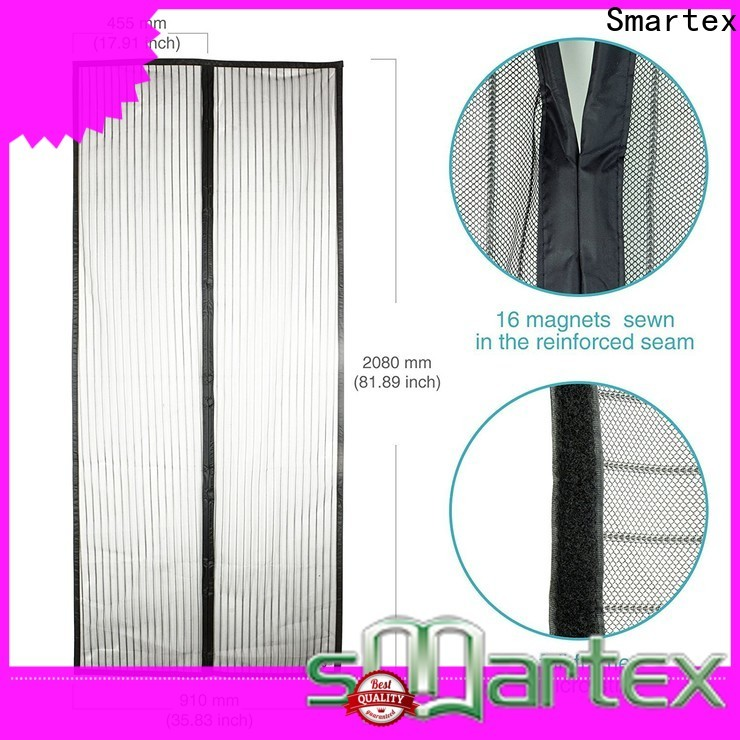 Smartex top selling magnetic back door screen from China for home use