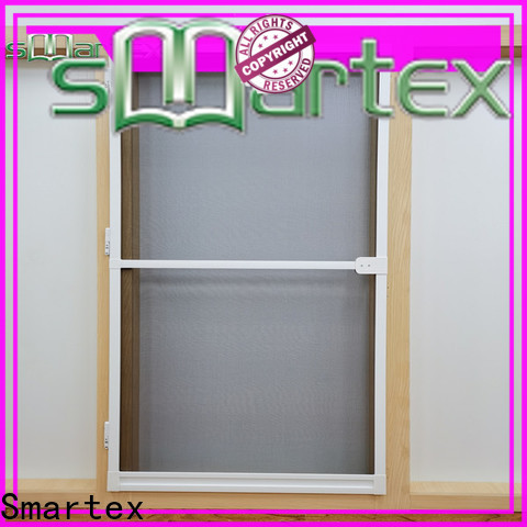 Smartex hot selling folding fly screen door wholesale for preventing insects