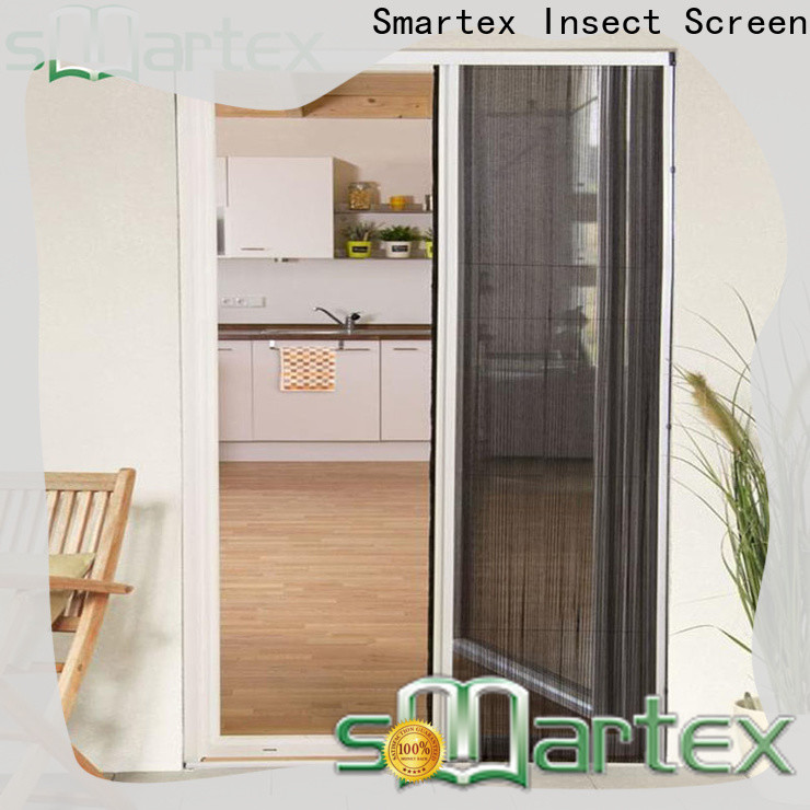 Smartex factory price plisse retractable screen factory direct supply for preventing insects