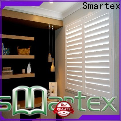 Smartex high-quality pvc window shutters from China for home