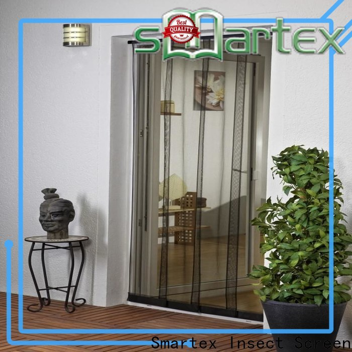 Smartex door fly screen curtain inquire now for home use