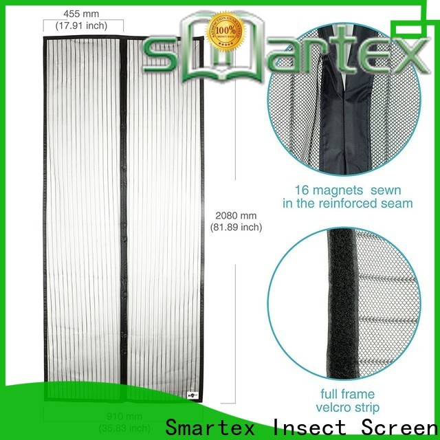 Smartex quality magnetic fly screen door curtain company for preventing insects