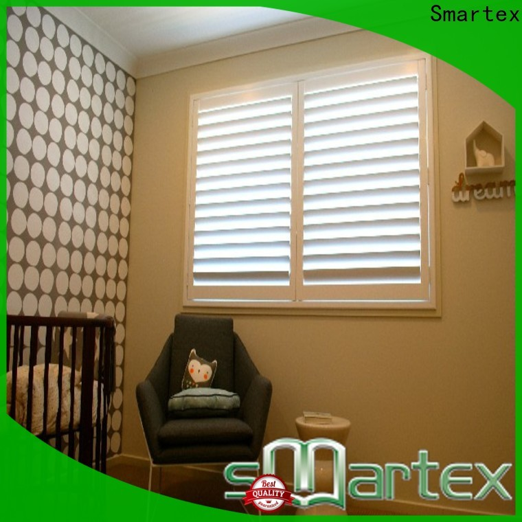 Smartex best price pvc shutters interior inquire now for comfortable life