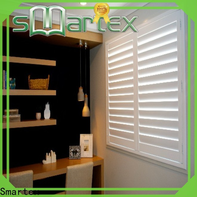 Smartex high-quality pvc shutters interior directly sale for home use