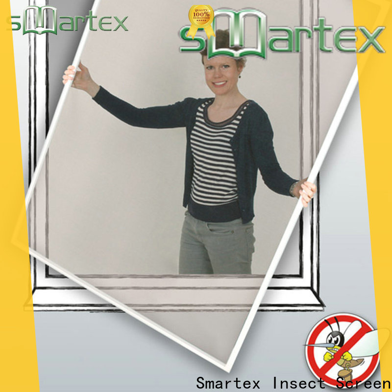 Smartex latest window screen frame with good price for preventing insects