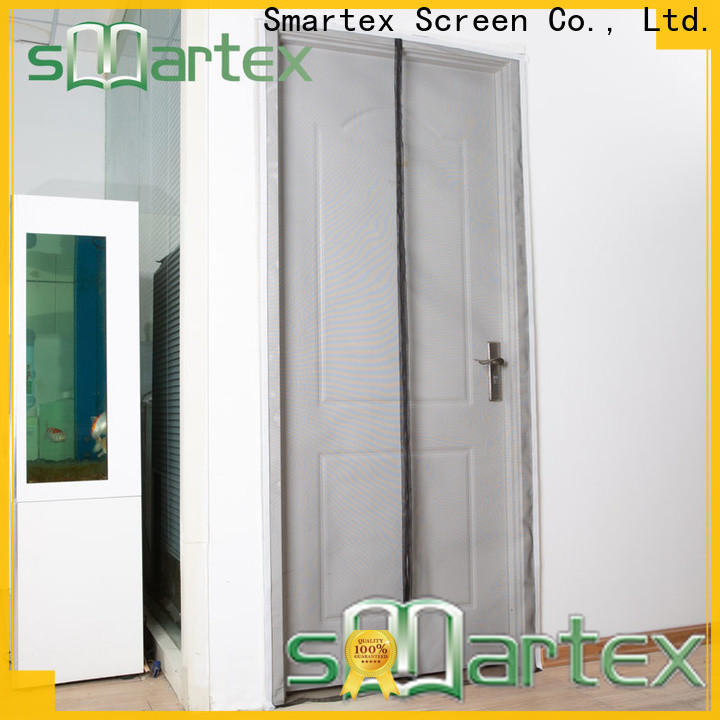 high quality magnetic bug door screen supply for preventing insects