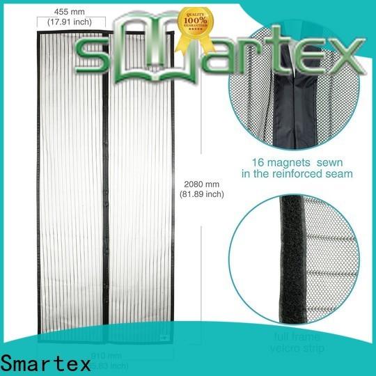 Smartex best price magnetic snap shut door screens factory direct supply for comfortable life