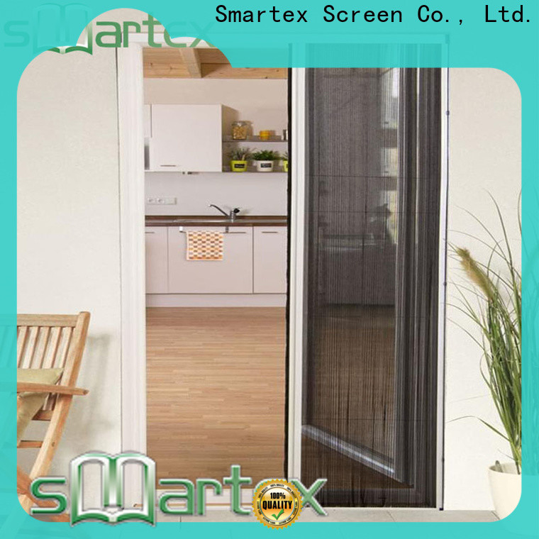 Smartex magnetic mesh fly screen door supply for preventing insects