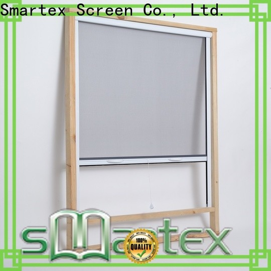 Smartex professional insect screen roller blinds factory direct supply for home