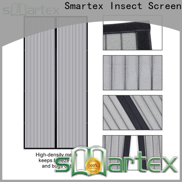 Smartex bug mesh magnetic door screen suppliers for preventing insects