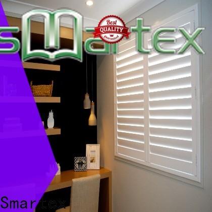 new custom pvc shutters manufacturer for home