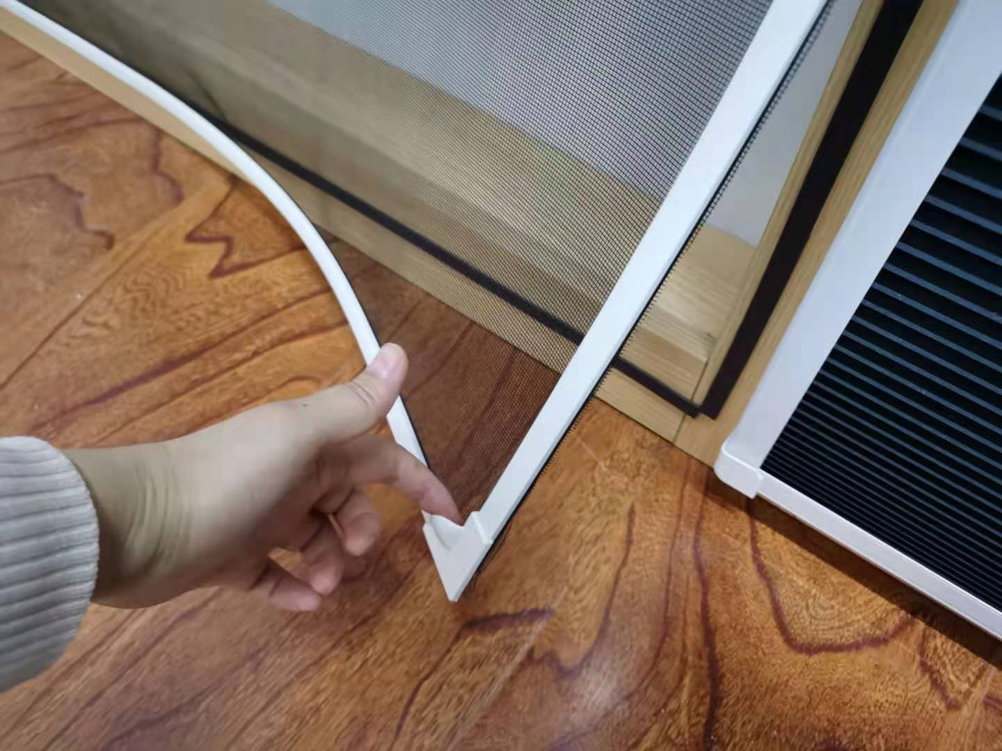 Insect Screen Window Hot Sell Magnet Frame Diy Magnetic Fly Screen Window with REACH SVHC174