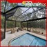 hot selling swimming pool screen covers factory for home use