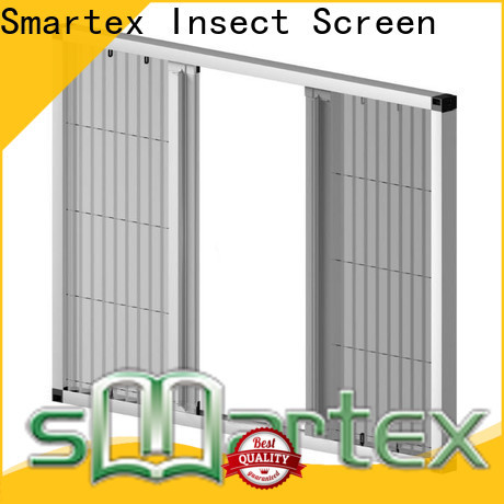 Smartex worldwide plisse retractable screen with good price for home