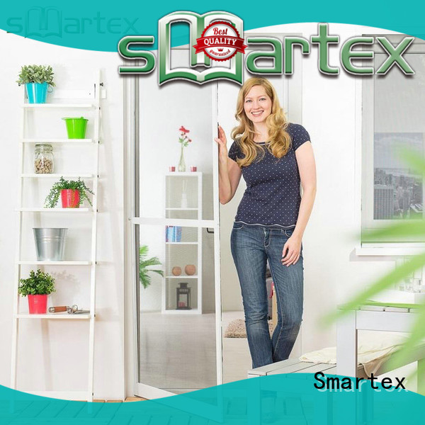 Smartex bifold screen door factory direct supply for home