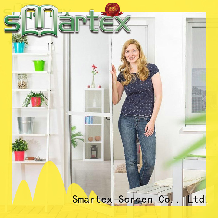 Smartex top selling bifold screen door factory direct supply