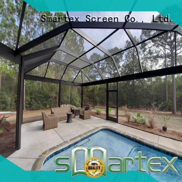 Smartex cheap covered pool enclosures wholesale