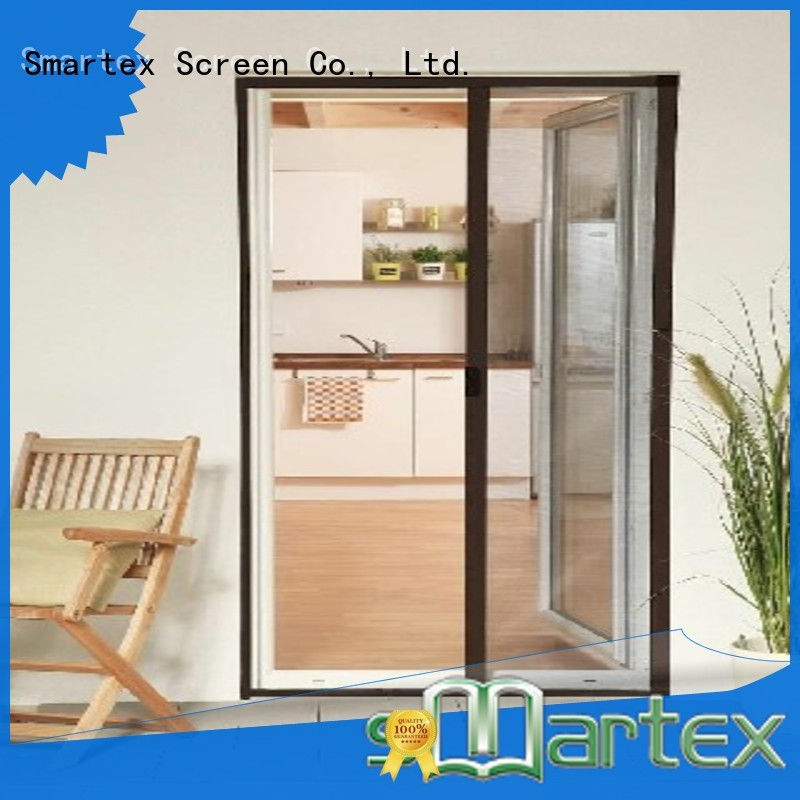 high quality pleated mesh fly screen door inquire now for home