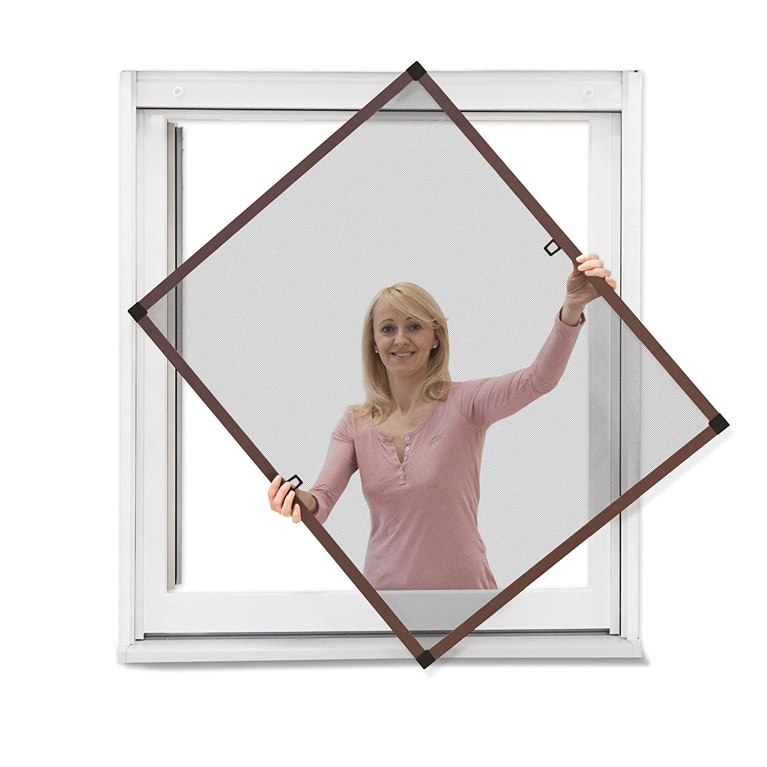 Smartex latest window screen frame with good price for preventing insects-1