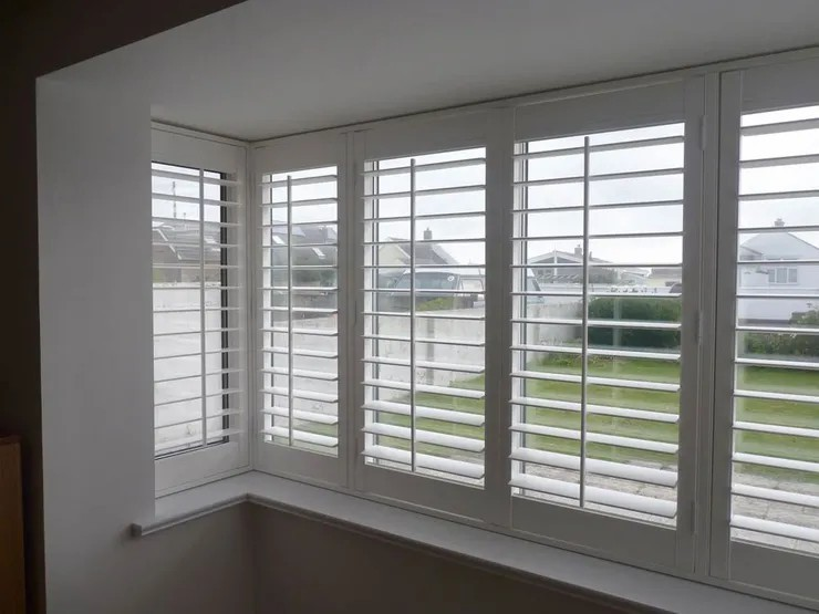 Indoor window internal pvc plantation shutters