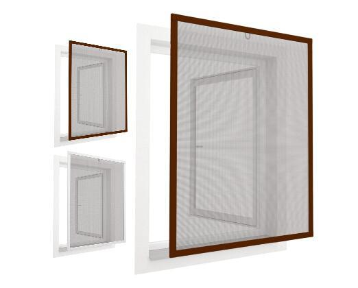 Insect screen stenter window mesh screen frame
