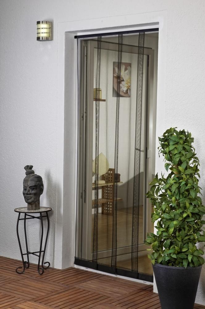3 or 4 panels Insect screen door curtains