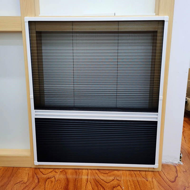 Dural Function pleated screen window - Retractable Screens
