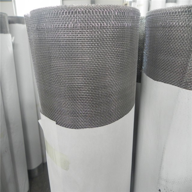 Factory high quality strong aluminum window mesh screen roll