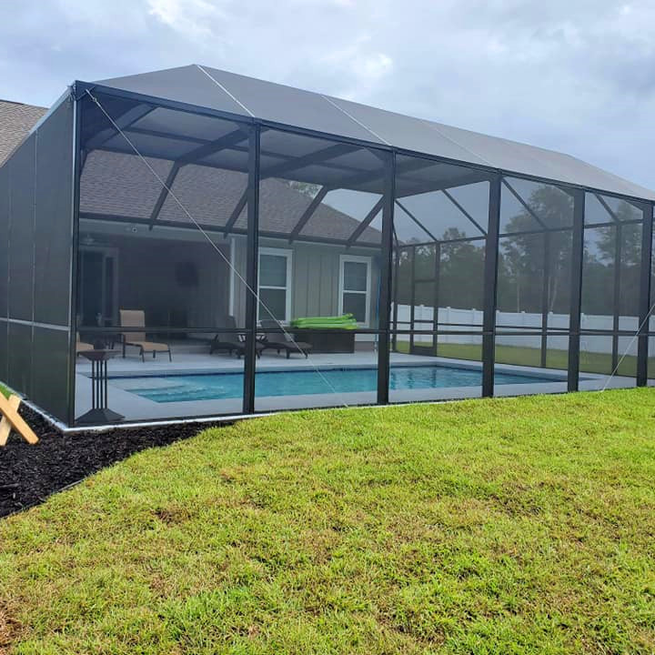 Best Pool Enclosure Tuff Screen Directly from Factory