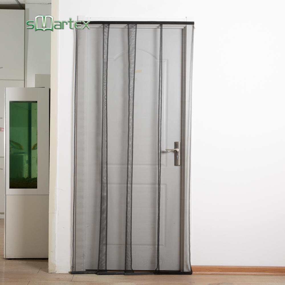 Insect screen door curtain mesh curtains with REACH SVHC174