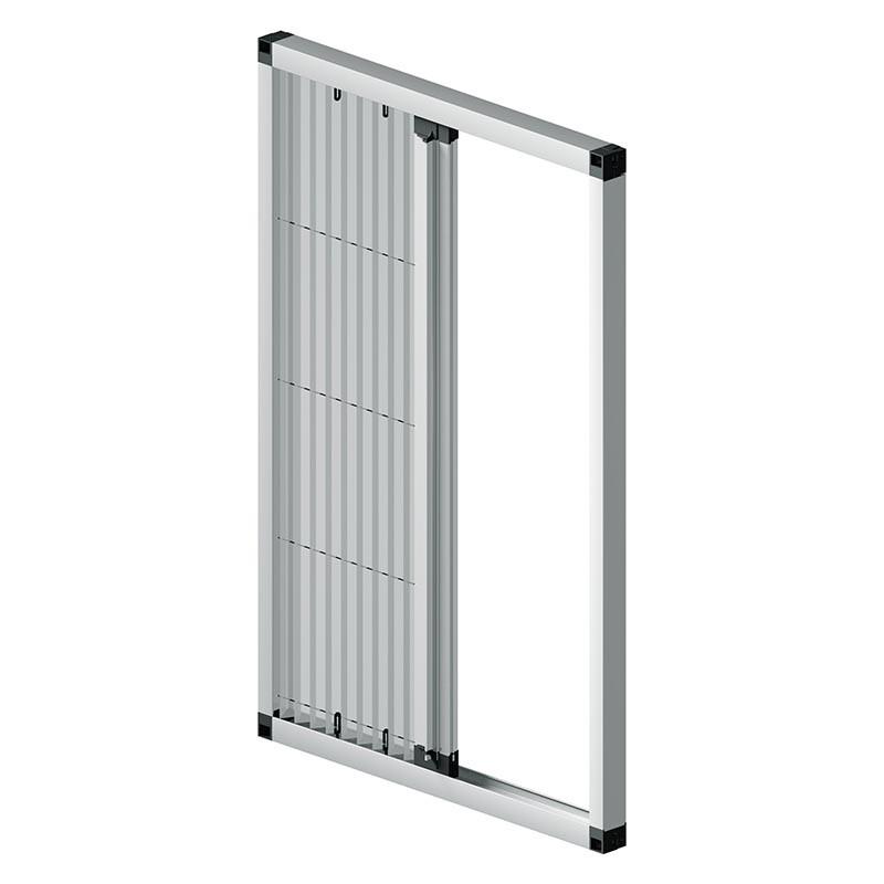 Amazing plisse screen door smooth and quiet movement