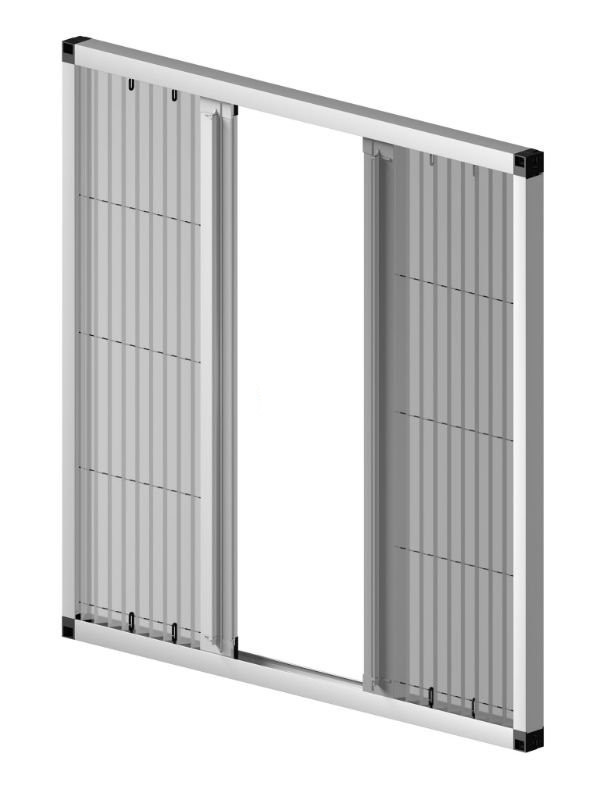 Wholesale Retractable screen door with pleated mesh From China-Smartex