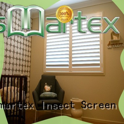 Smartex recyclable pvc shutter blinds company for home