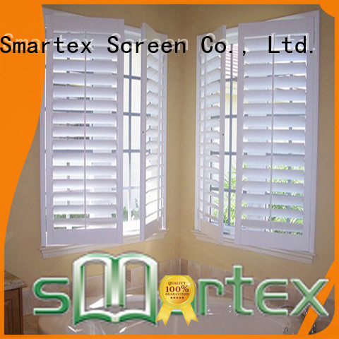 Smartex pvc shutters inquire now for comfortable life