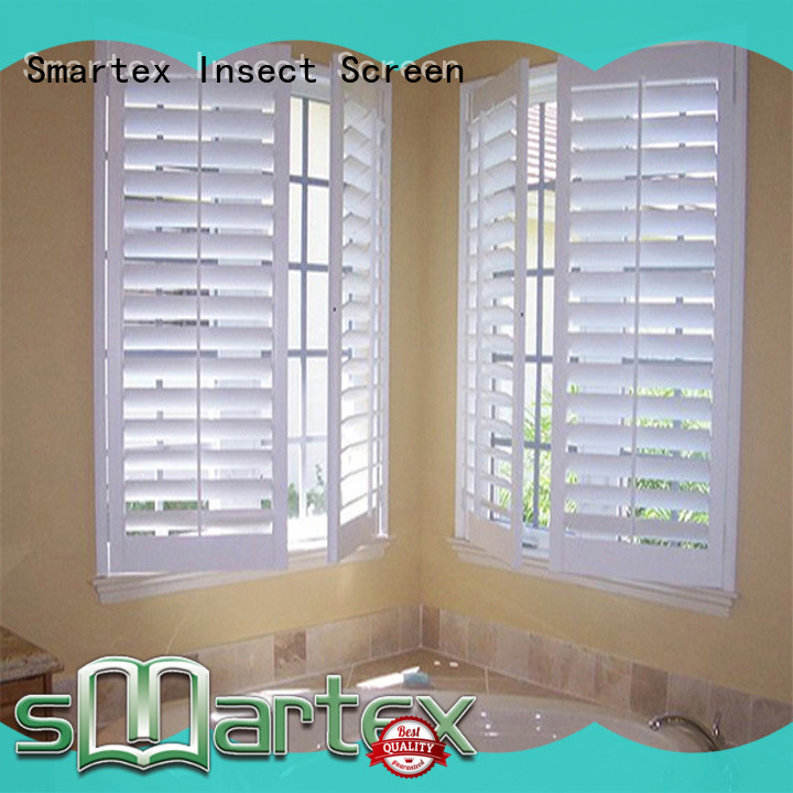 hot-sale pvc exterior shutters factory for home