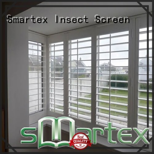 Smartex pvc window shutters interior suppliers for comfortable life