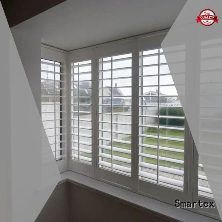 Smartex pvc window shutters company for home use