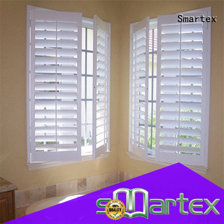 Smartex top quality custom pvc shutters best supplier for preventing insects