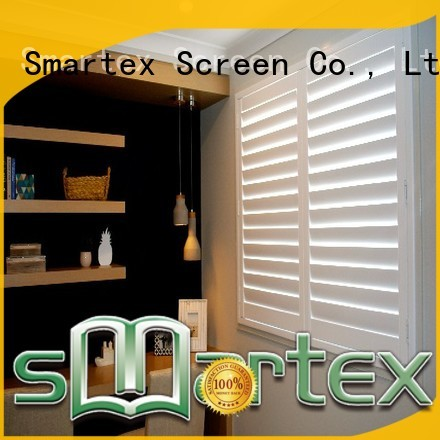 Smartex cost-effective pvc exterior shutters factory for preventing insects