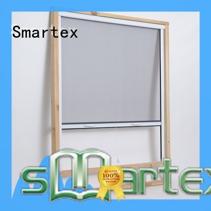 Smartex popular insect screen roller blinds company for home depot